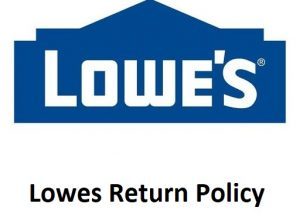 Lowes Return Policy